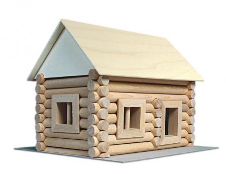 Set constructie arhitectura Vario, 72 piese din lemn, Walachia [2]