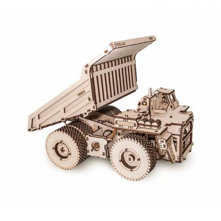 Set constructie cu mecanism Puzzle 3D BELAZ 75600 din lemn 307 piese @ EWA [2]
