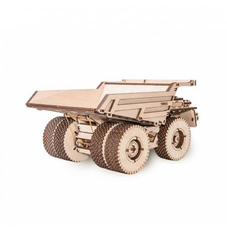 Set constructie cu mecanism Puzzle 3D BELAZ 75600 din lemn 307 piese @ EWA [3]