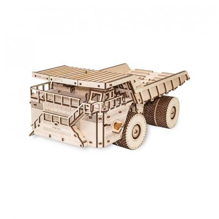 Set constructie cu mecanism Puzzle 3D BELAZ 75710 din lemn 453 piese @ EWA [1]