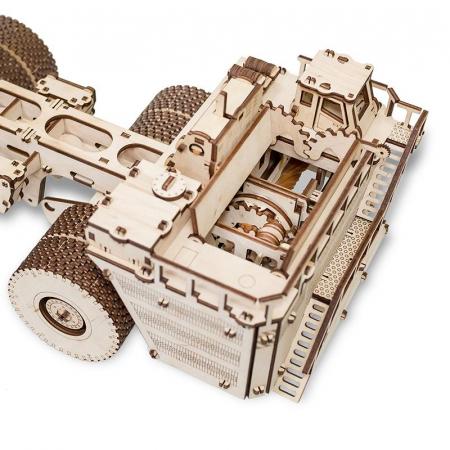Set constructie cu mecanism Puzzle 3D BELAZ 75710 din lemn 453 piese @ EWA [6]