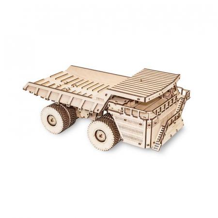 Set constructie cu mecanism Puzzle 3D BELAZ 75710 din lemn 453 piese @ EWA [2]