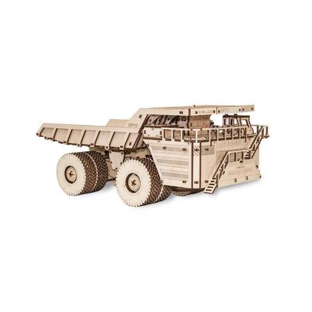 Set constructie cu mecanism Puzzle 3D BELAZ 75710 din lemn 453 piese @ EWA [3]