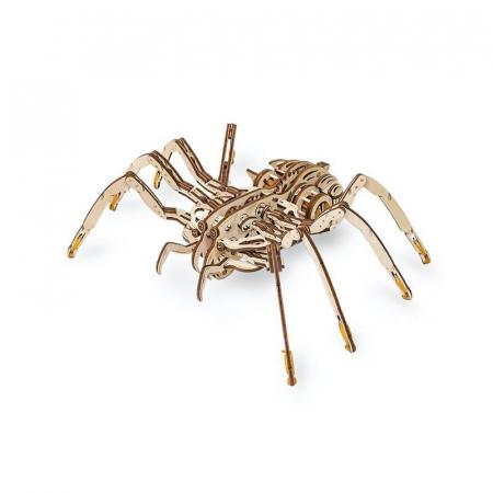 Set constructie cu mecanism Puzzle 3D SPIDER din lemn 293 piese @ EWA [2]