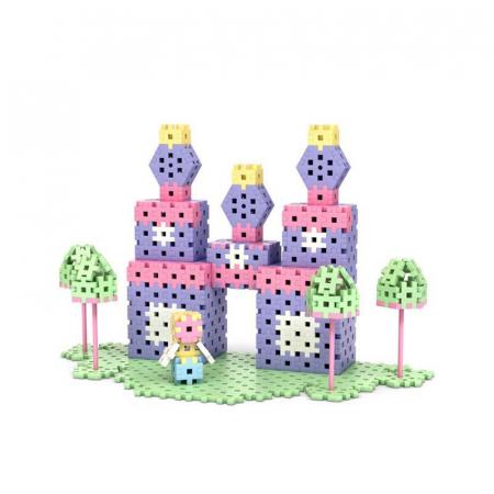 Set creativ de constructie Castelul Printesei, 434 piese, Meli [2]