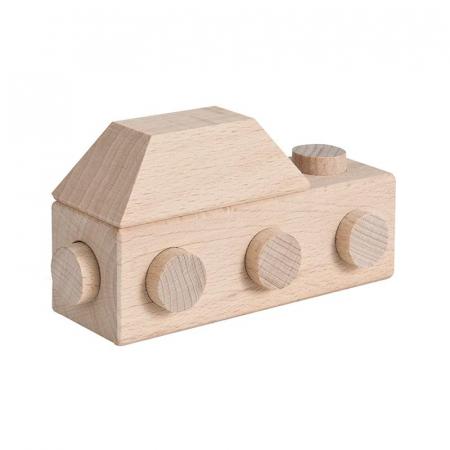 Set cuburi de constructie din lemn Architect XL, +1 an, Matador [1]