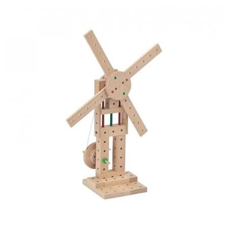 Set cuburi de constructie din lemn Explorer 222 piese, +5 ani, Matador [5]