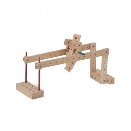 Set cuburi de constructie din lemn Explorer 222 piese, +5 ani, Matador [2]