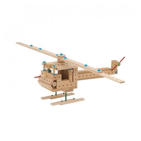 Set cuburi de constructie din lemn Explorer 300, +5 ani, Matador [2]