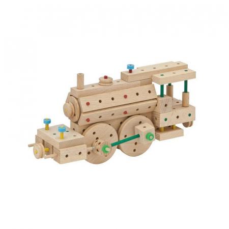 Set cuburi de constructie din lemn Explorer 318 piese, +5 ani, Matador [6]
