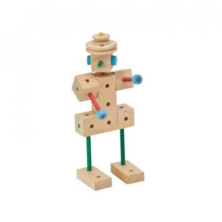 Set cuburi de constructie din lemn Explorer 318 piese, +5 ani, Matador [3]