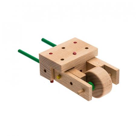 Set cuburi de constructie din lemn Explorer World Country, +5 ani, Matador [4]