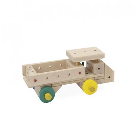 Set cuburi de constructie din lemn Maker 263 piese, +3 ani Matador [2]