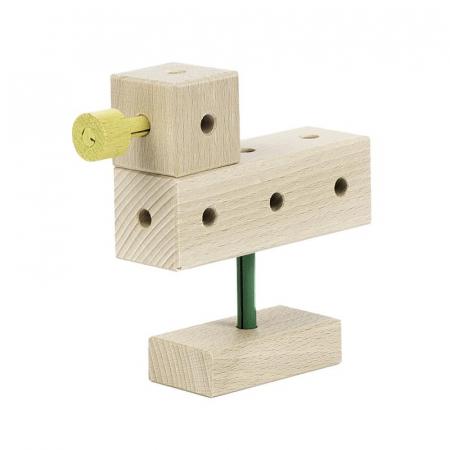 Set cuburi de constructie din lemn Maker 70 piese, +3 ani, Matador [3]