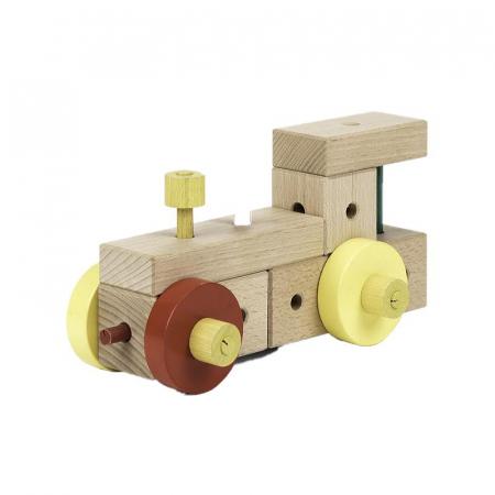 Set cuburi de constructie din lemn Maker 70 piese, +3 ani, Matador [1]