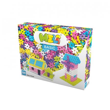Set de constructie creativa Basic Girls 600 piese, Meli [0]