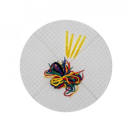 Set desen prin snuruire Round White Playboard, Nexus [0]