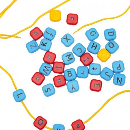 Set margele de insirat Alfabet, Nexus [3]