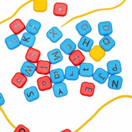 Set margele de insirat Alfabet, Nexus [5]