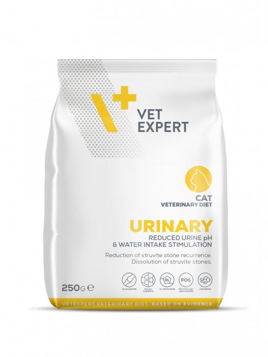 4T Dieta Veterinara URINARY CAT, VetExpert 250g [0]