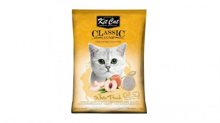 Asternut igienic  KIT CAT CLASSIC CLUMP WHITE PEACH - 10L [0]