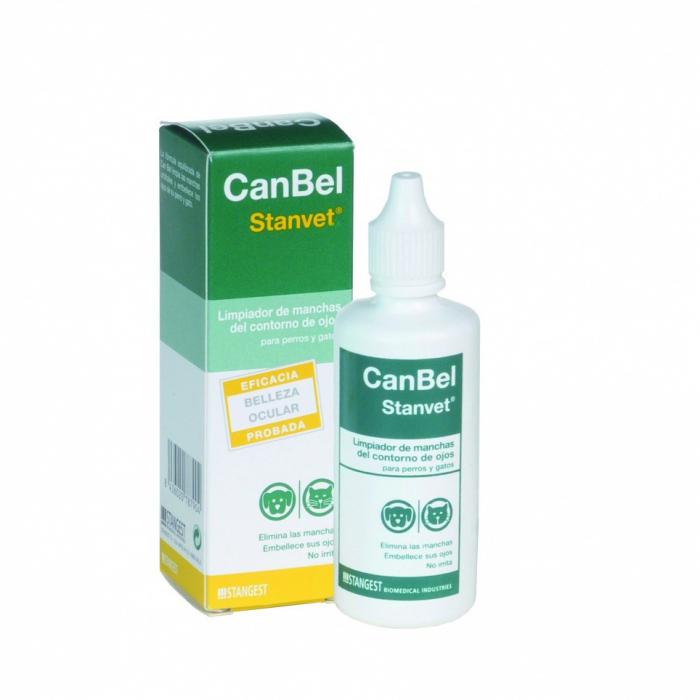 CAN BEL,solutie pentru eliminat petele de la ochii, Stangest, 60 ml [0]