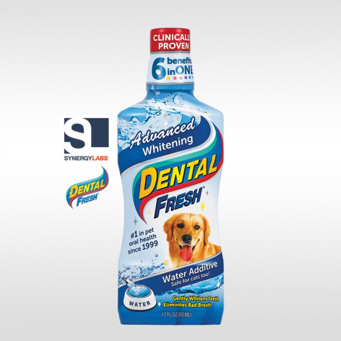 Dental Fresh ADVANCED WHITENING pentru caini, Synergy Labs, 503 ml [0]