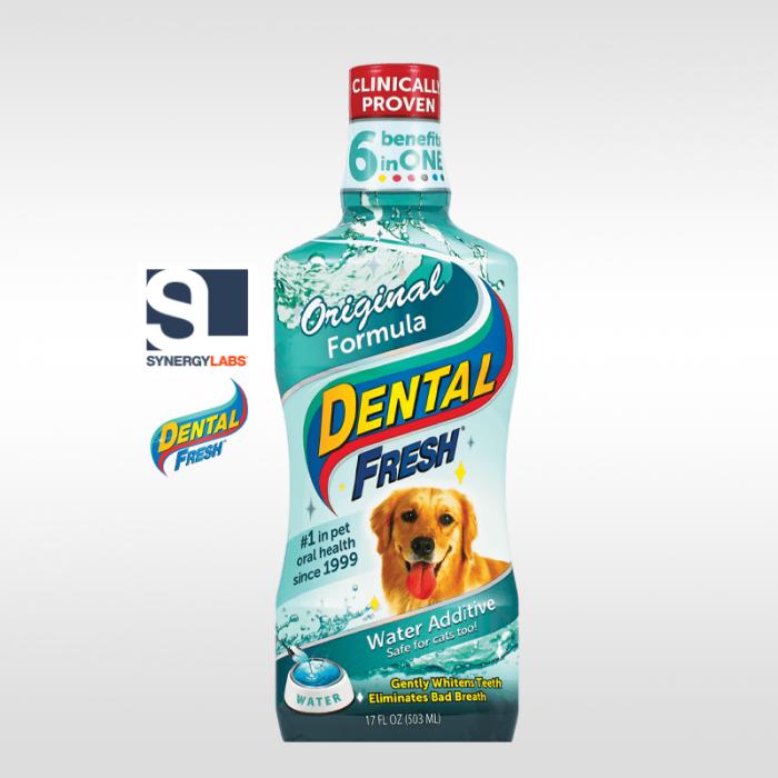 Dental Fresh ORIGINAL FORMULA pentru caini , Synergy Labs, 303 ml [0]