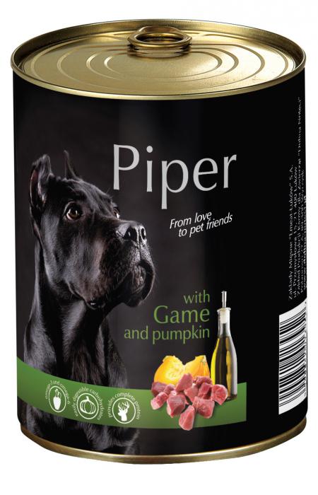 Hrana umeda Piper Adult, Vanat si Dovleac, 400 g [0]