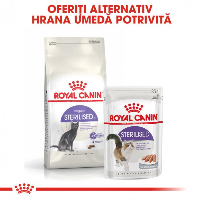 ROYAL CANIN STERILISED,hrană uscată pisici sterilizate, 4 kg [5]
