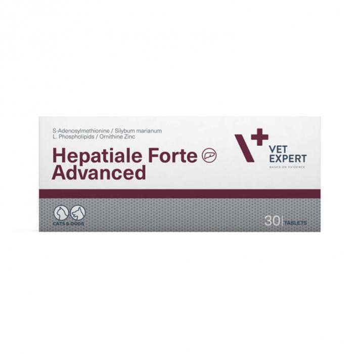 Hepatiale Forte Advanced 30 tablete, Vet Expert [0]
