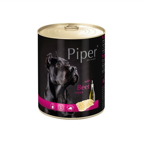 Hrana umeda Piper Animals, burta de vita, conserva, 800 g [0]