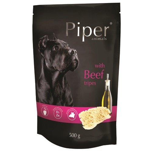 Hrana umeda Piper Animals, burta de vita, plic, 500 g [0]
