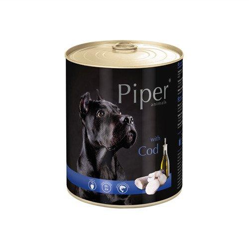 Hrana umeda Piper Animals, cod, conserva, 800 g [0]