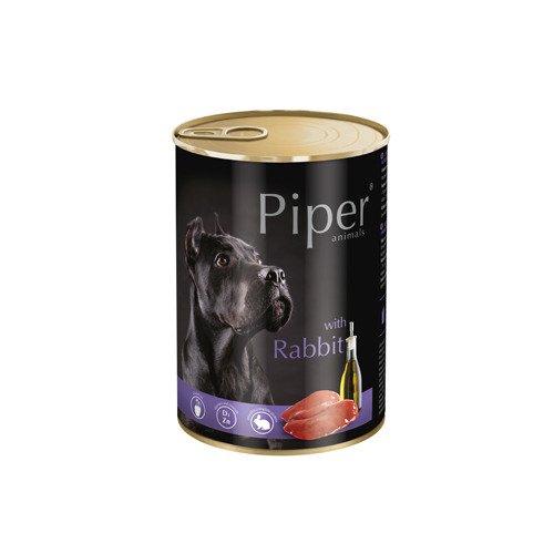 Hrana umeda Piper Animals, iepure, conserva, 800 g [0]