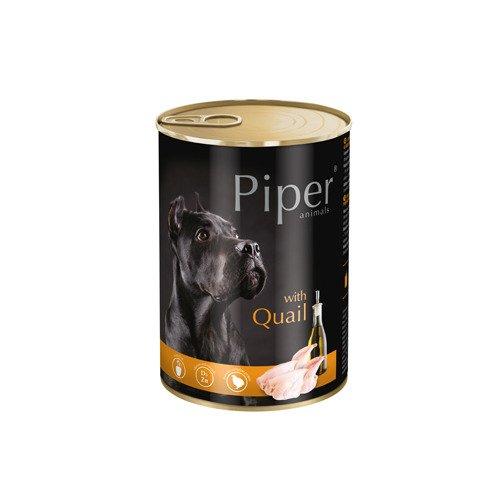 Hrana umeda Piper Animals, prepelita, conserva, 400 g [0]