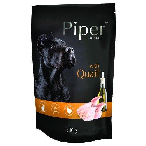Hrana umeda Piper Animals, prepelita, plic, 500 g [0]