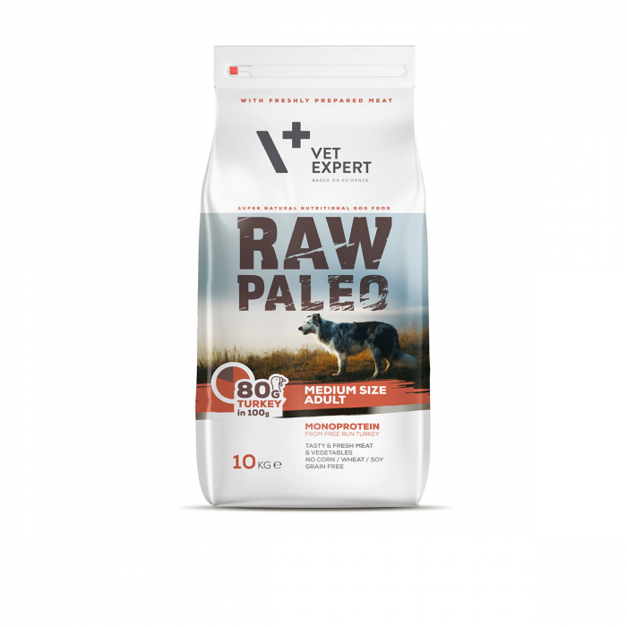 Hrana uscata, RAW PALEO, adult, rase medii, 2.5 kg [0]