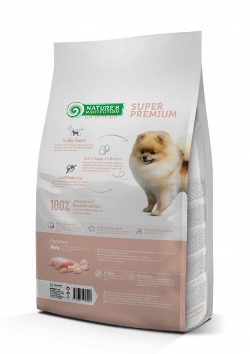 Natures Protection Dog Mini Junior, hrana uscata pentu juniori talie mica, 7.5kg [1]