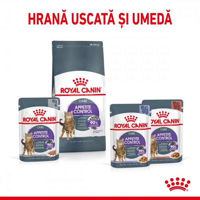 Royal Canin Appetite Control Care, hrană uscată pisici, adult sterilizat, reglarea apetitului, 400G [3]