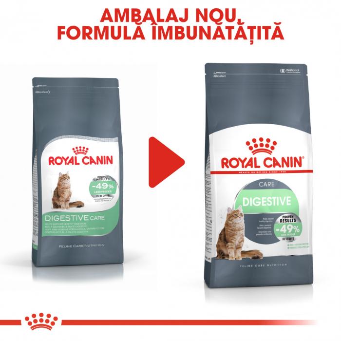 Royal Canin Digestive Care Adult, hrană uscată pisici, confort digestiv, 400 g [1]