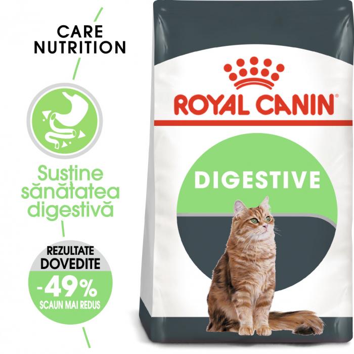 Royal Canin Digestive Care Adult, hrană uscată pisici, confort digestiv, 400 g [0]