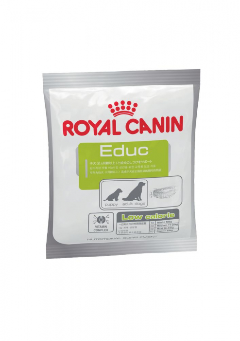 Royal Canin Educ, recompense hipocalorice câini, RECOMPENSE DRESAJ 50G [5]