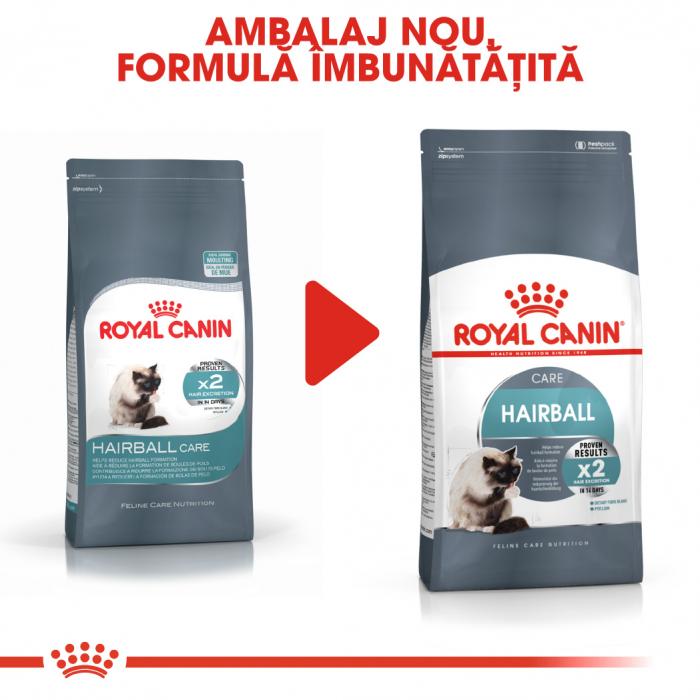 Royal Canin Hairball Care Adult, hrană uscată pisici, limitarea ghemurilor de blană 10 kg [1]