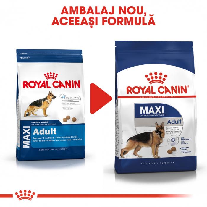 Royal Canin Maxi Adult, hrană uscată câini, 4 kg [5]