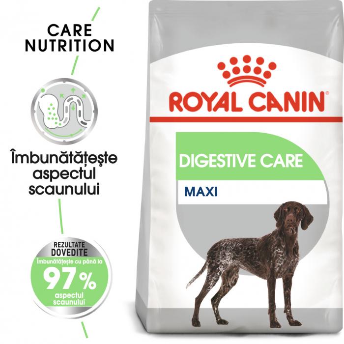 Royal Canin Maxi Digestive Care, hrană uscată câini, confort digestiv,  3Kg [0]