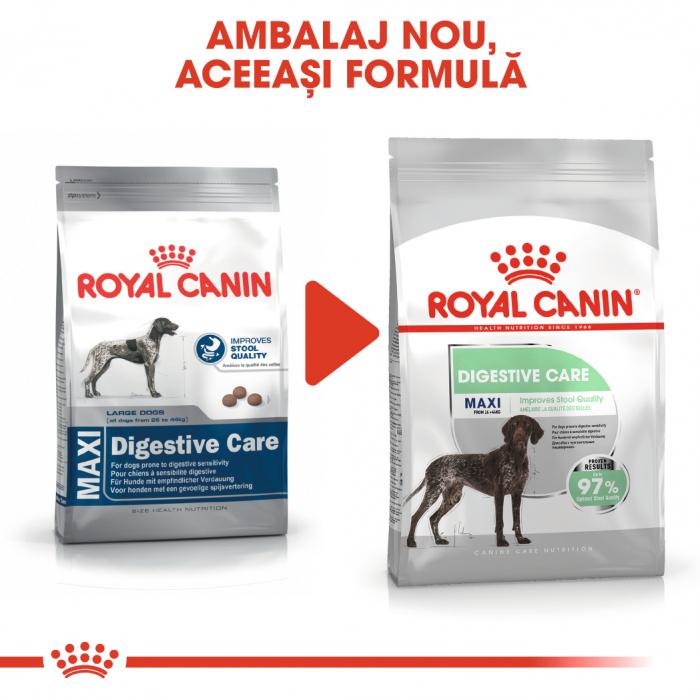 Royal Canin Maxi Digestive Care, hrană uscată câini, confort digestiv,  3Kg [1]