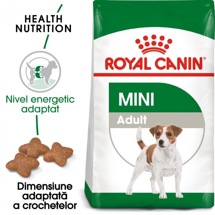 Royal Canin Mini Adult, hrană uscată câini,  4 kg [0]