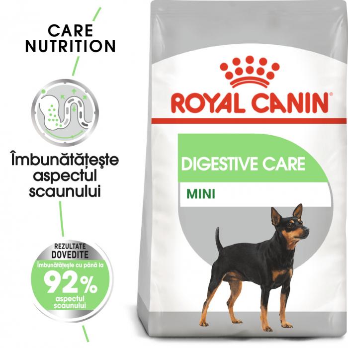 Royal Canin Mini Digestive Care, hrană uscată câini, confort digestiv, 1KG [0]