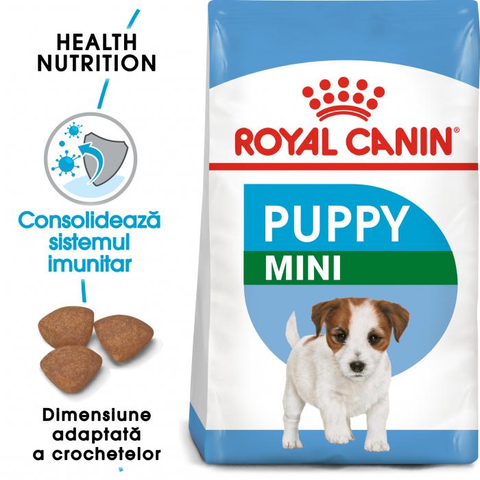 Royal Canin Mini Puppy, hrană uscată câini junior, 2 kg [0]